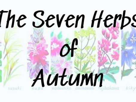 Aki-no-Nanakusa: The Seven Herbs of Autumn