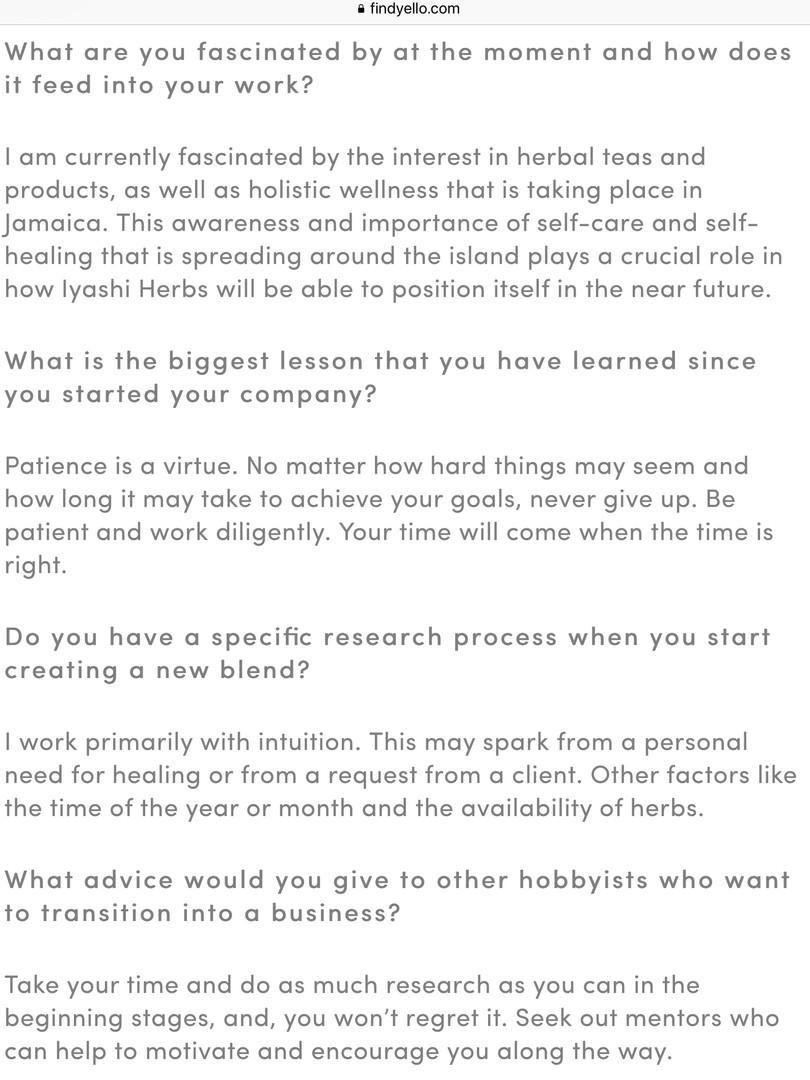 Find Yello Interview 3