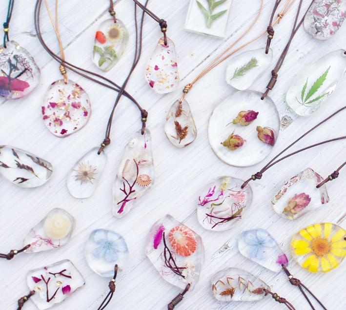Collection of Sea & Shore necklaces