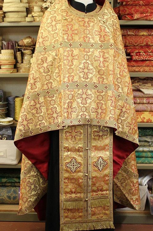 Ephesus gold Athonite vestments
