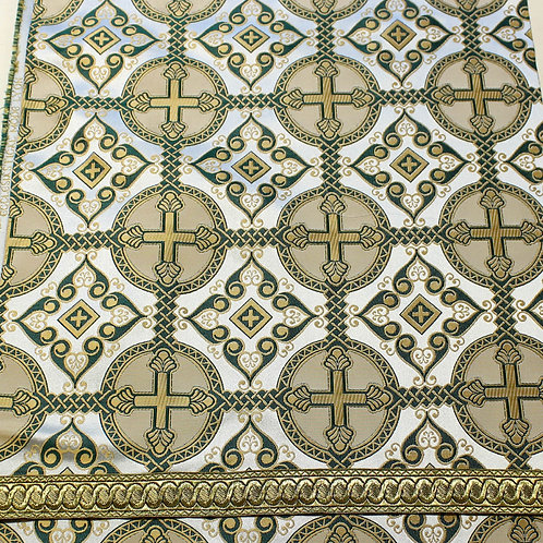 Antioch white-gold-green priest vestments