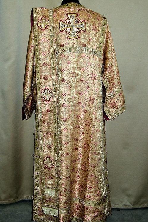 Ravenna gold deacon's vestments