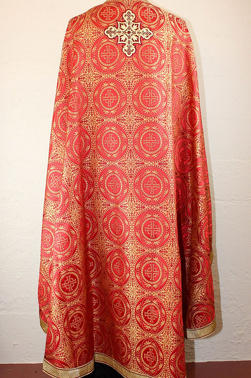 Edessa red priest vestments