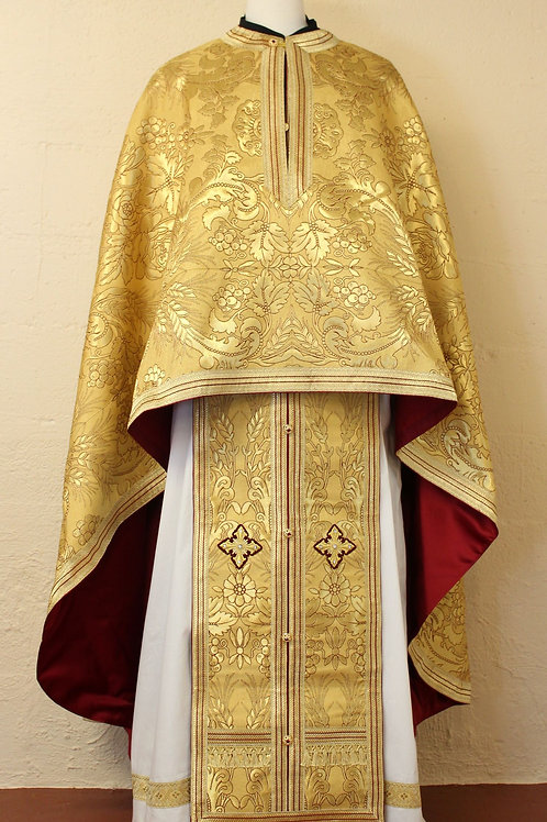 Phrygia gold real metal priest vestments