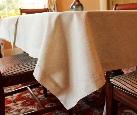 Base layer tablecloth