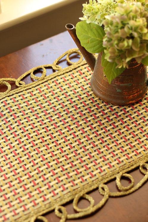 Mediterranean Basketweave (M)--THREE colorways in one pattern!