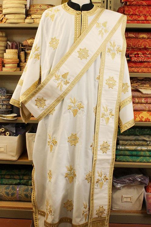 Caesarea lightweight deacon's vestments