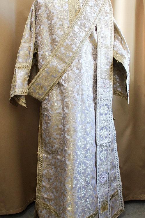 Deacon vestments real metal, bright