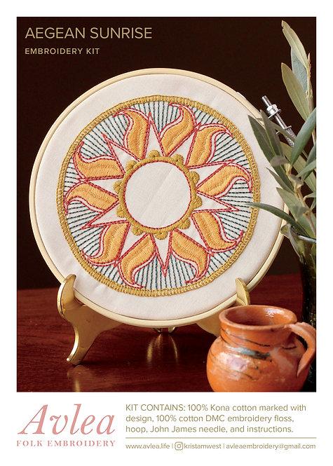 Whlsl Aegean Sunrise hoop kit