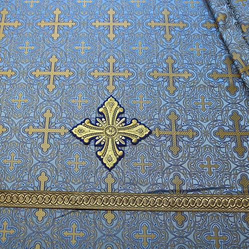 Chalcedon blue deacon's vestments