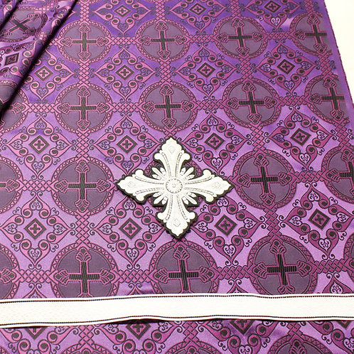 Antioch purple-black deacon's vestments