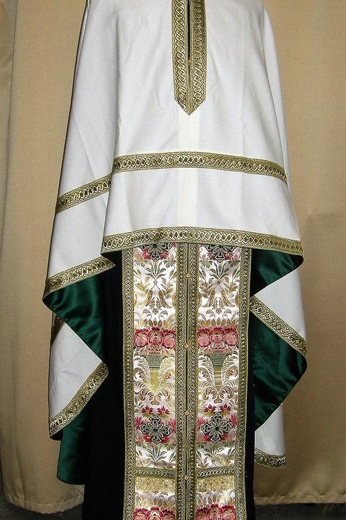 Ivory wool priest vestments