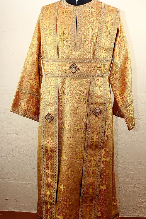 FEW LEFT! Subdeacon vestments, gold
