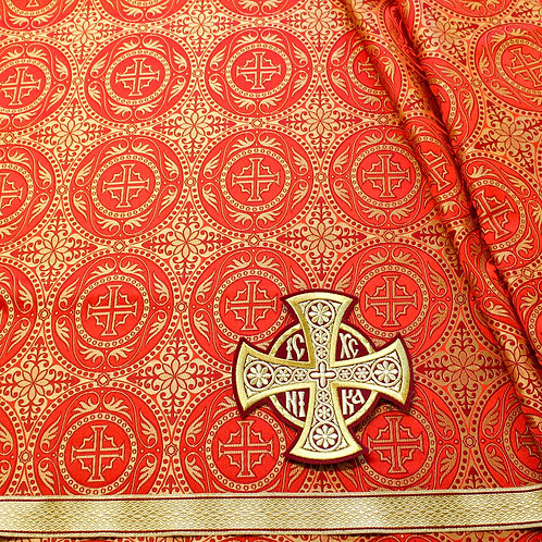Edessa red deacon's vestments