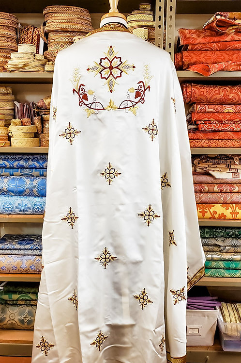 Lattice cross priest set