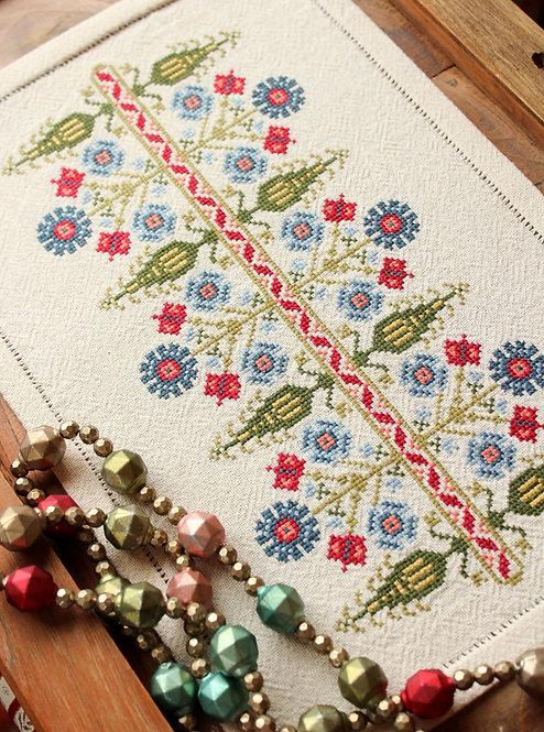 Whlsl Delphian Cornflower Kit or Pattern