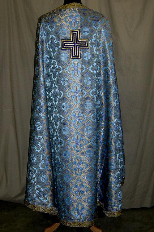 Ravenna blue priest vestments