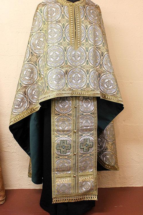 Edessa green priest vestments