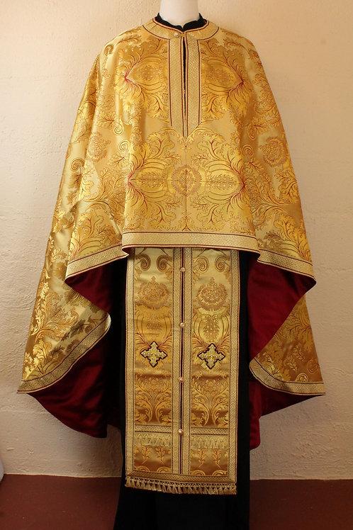 Patras gold real metal priest vestments