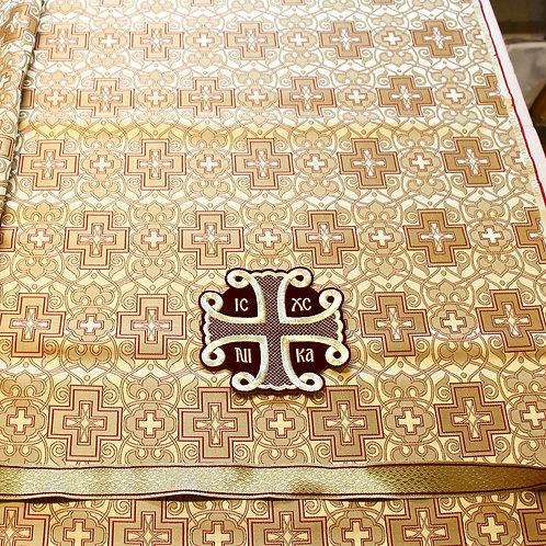 Angora gold priest vestments