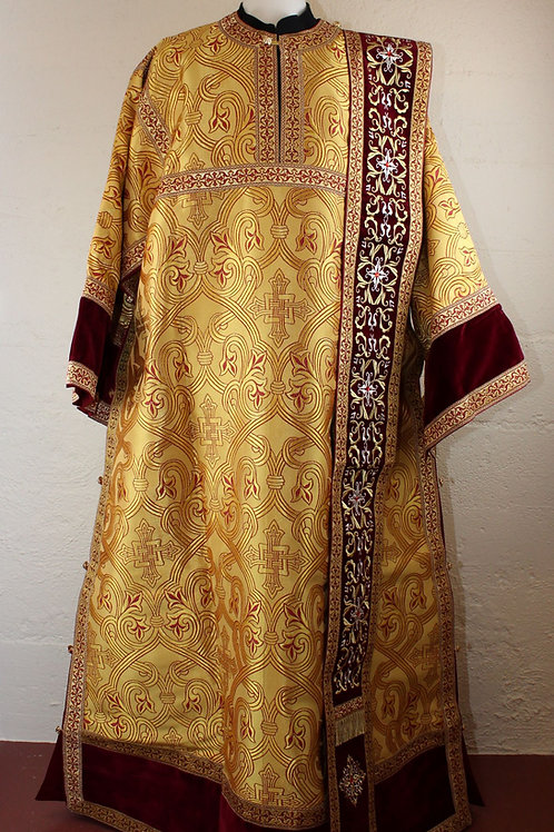 Deacon vestments real metal, golds