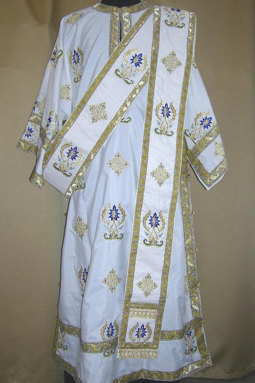 Deerfield Blue deacon vestments