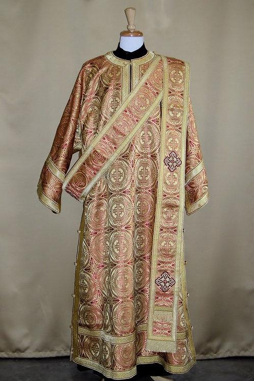 Edessa gold deacon's vestments