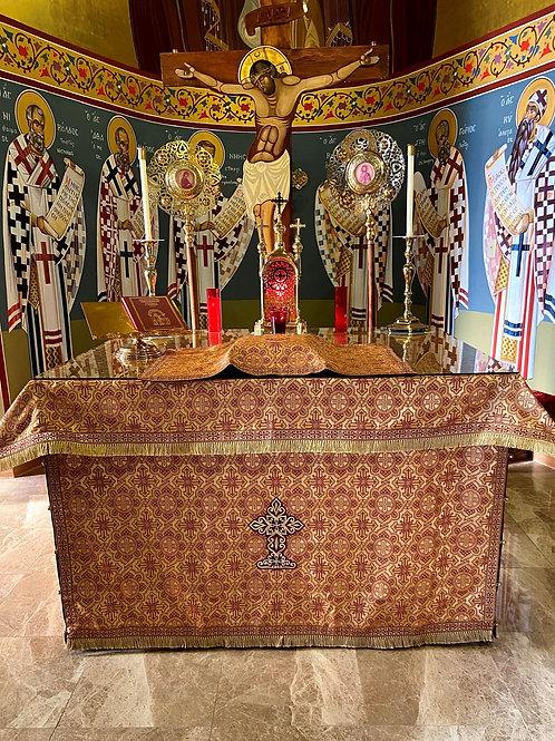 Altar Cloth, Fully Dressed