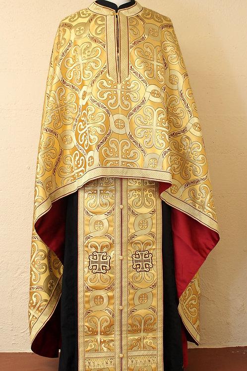 Dorylaeum gold real metal priest vestments