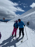 On the slopes...