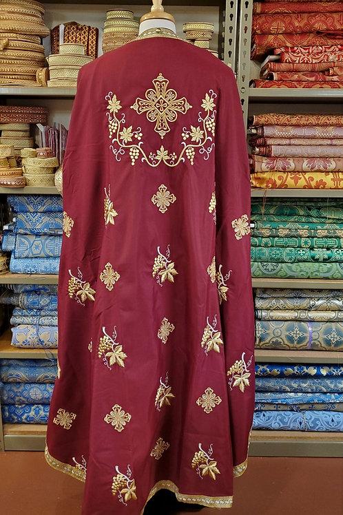 Phoenicia burgundy priest vestments