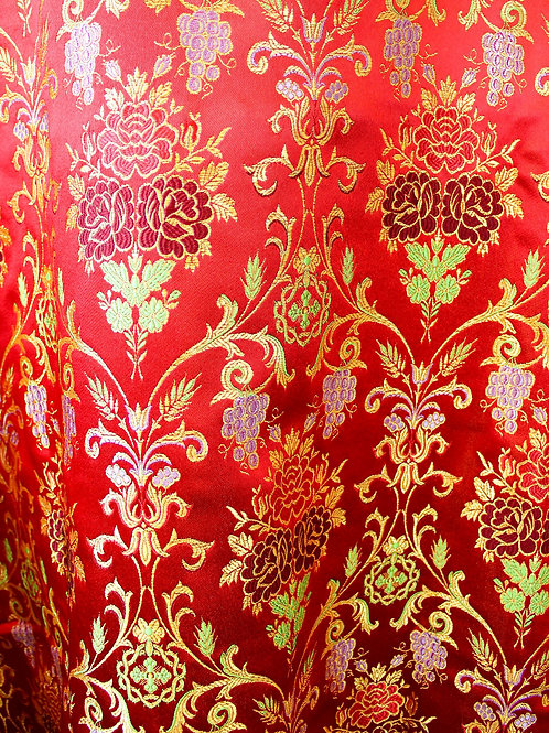 Venetian red deacon's vestments