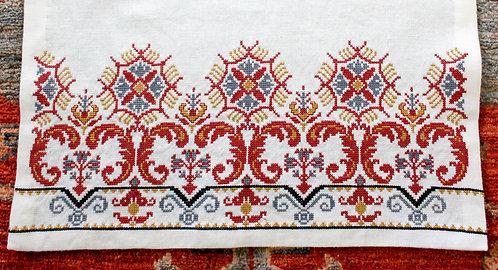 Milanese Floral Border pattern