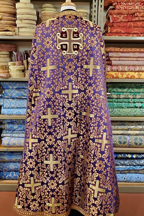 Athens purple-burgundy priest vestments
