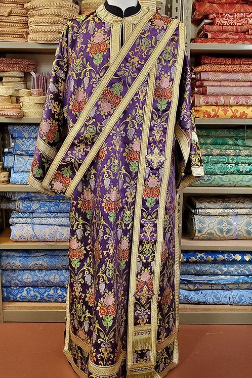Venetian purple deacon's vestments