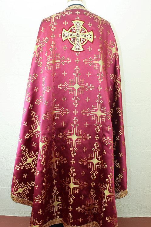 Chandrax burgundy priest vestments