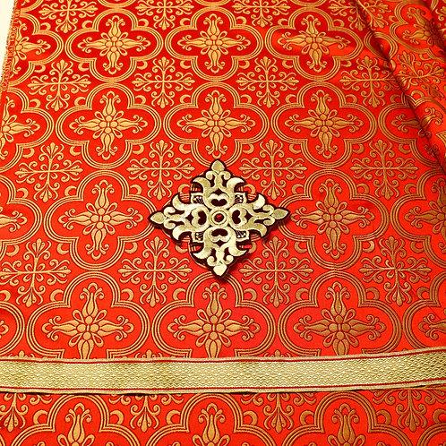 Deacons vestments brocade, red