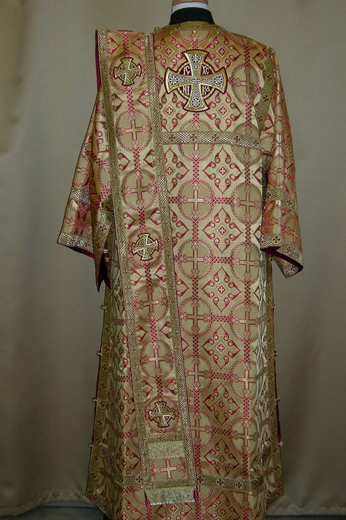 Antioch gold deacon's vestments