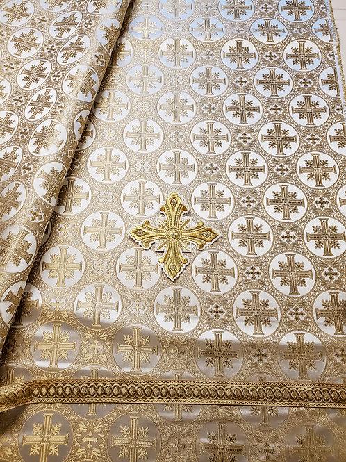 Jerusalem white-gold priest vestments
