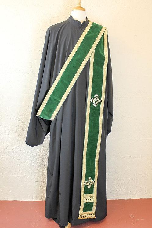 Green velvet orarion