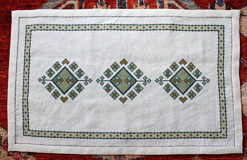 Anatolian Argyle Table Runner Download