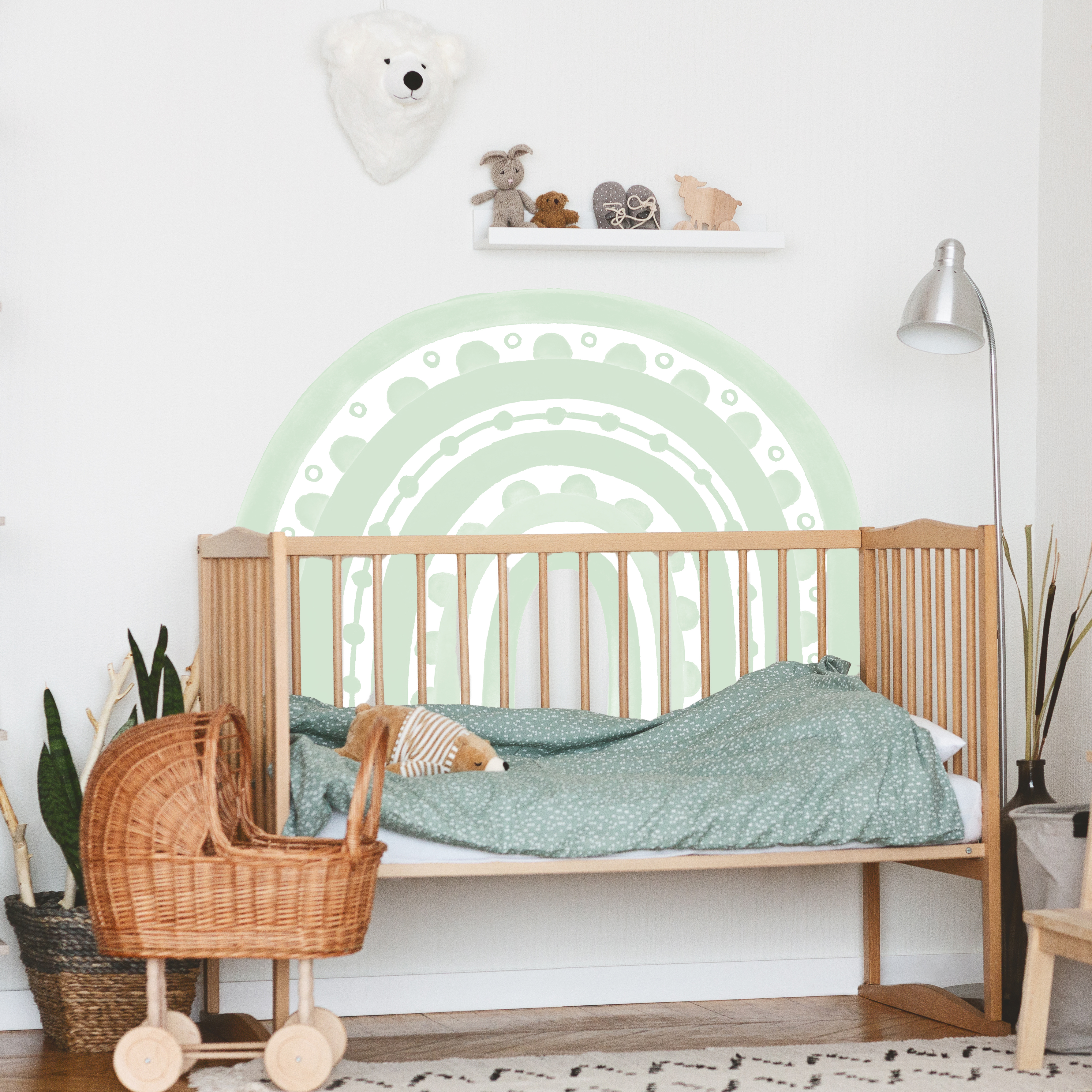 Rainbow Arch in Mint | WALL DECAL
