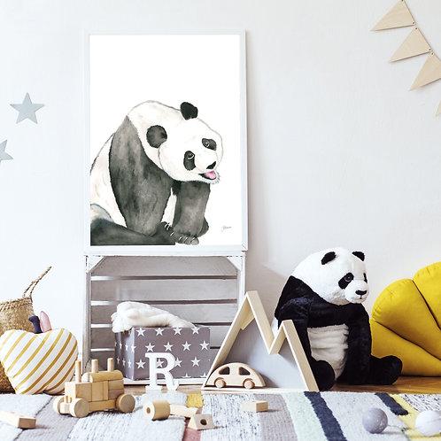 Layla the Baby Panda Bear | FRAMED