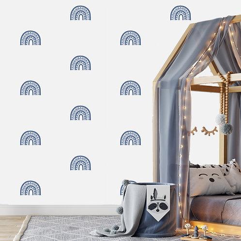 Rainbow Arch Mini in Cornflower Blue | WALL DECAL