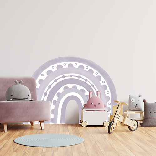 Rainbow Arch in Lilac | WALL DECAL