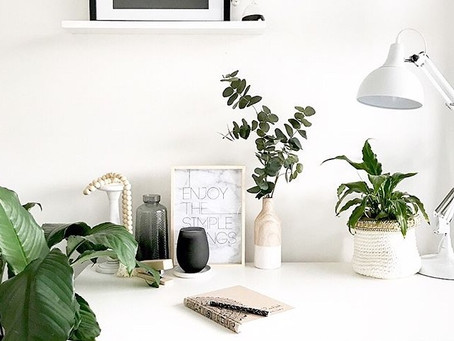Creating an office nook on a budget