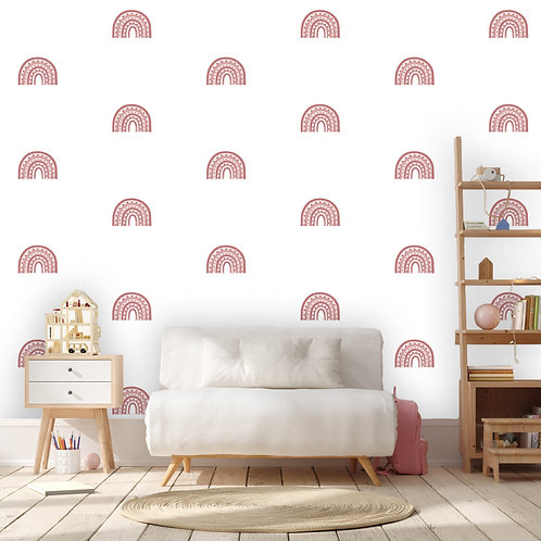 Rainbow Arch Mini in Blush Pink | WALL DECAL