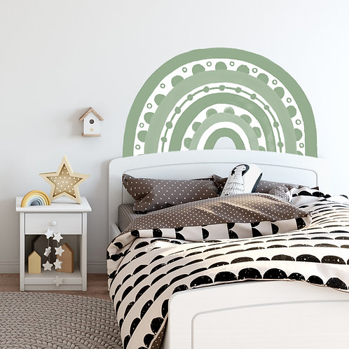 Rainbow Arch in Celedon Green | WALL DECAL