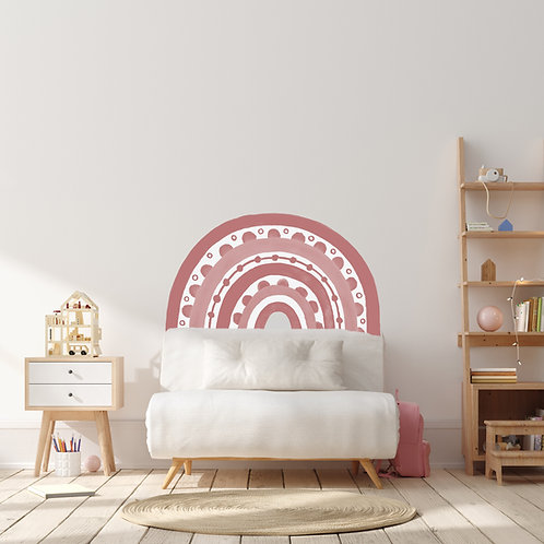 Rainbow Arch in Blush Pink | WALL DECAL