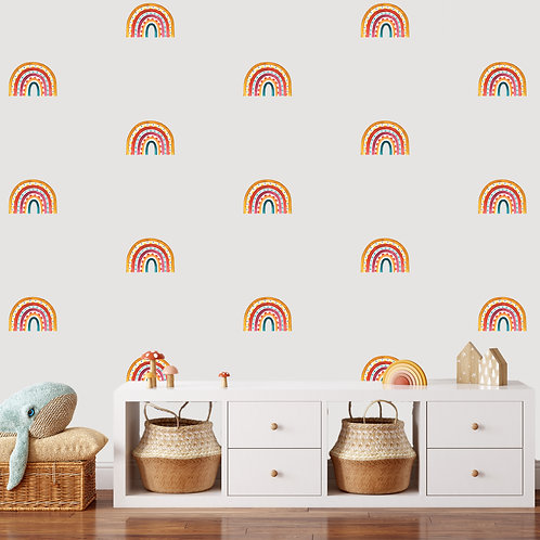 Rainbow Arch Mini in Multi Colour | WALL DECAL